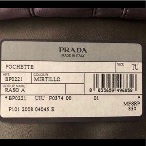 Prada Bags - 💯AUTH NEW PRADA RASO SATIN CLUTCH BAG EVENING 🎁